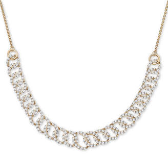 """Wrapped in Love Diamond Oval-Link 20""""-24"""" Statement Necklace (2 ct. t.w.) in 14k Gold"""
