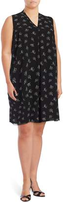 Vince Camuto Plus Printed Shift Dress
