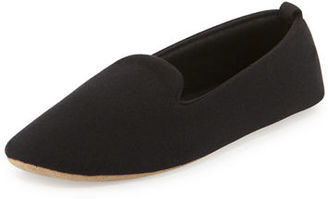 ACORN Cashmere-Blend Smoking Slipper $135 thestylecure.com