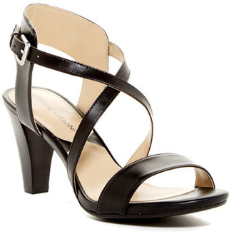 Adrienne Vittadini Briale Dress Sandal $89 thestylecure.com
