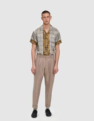 Dries Van Noten Short Trouser in Rose