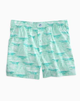 Southern Tide Waterline Boxer Short