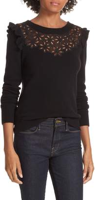 Rebecca Taylor Emilie Embroidered Sweater