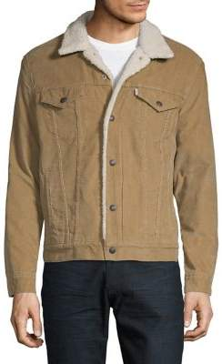 Levi's Sherpa-Lined Corduroy Jacket