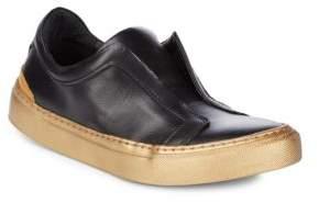 Matt Bernson Alchemist Leather Slip-On Sneakers