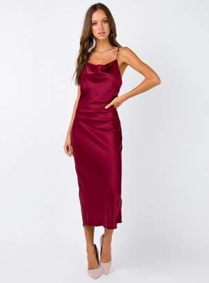 Betta Vanore Maxi Dress Burgundy
