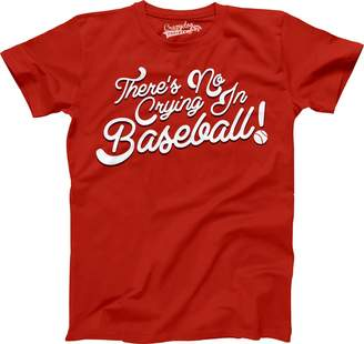 Crazy Dog T-shirts Crazy Dog Tshirts No Crying In Baseball Youth T Shirt League Of Their Own Tee For Kids L