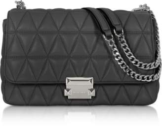 Michael Kors Sloan Large Quilted-Leather Shoulder Bag