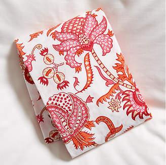 Roller Rabbit Amanda Fitted Crib Sheet - Orange