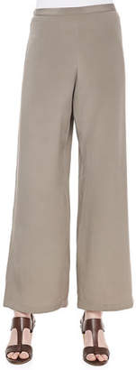 Go Silk Silk Wide-Leg Pants, Plus Size