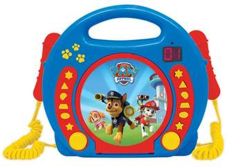 Paw Patrol - Cd Player With Microphones