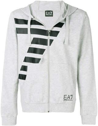 Emporio Armani Ea7 contrast logo hoody