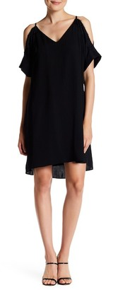 Rachel Rachel Roy Cold Shoulder Shift Dress $129 thestylecure.com