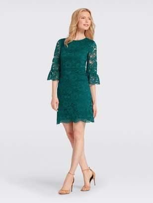 Draper James Lace Bell-Sleeve Dress