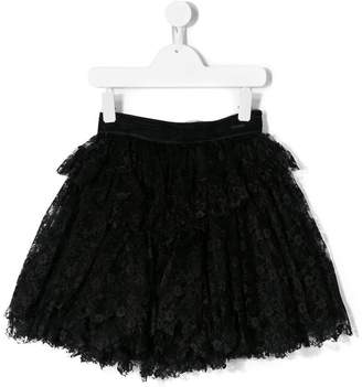 DSQUARED2 floral lace tutu