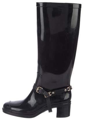 6c836a23e539 Jimmy Choo Rain Boots - ShopStyle