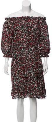 Saloni Silk Polka Dot Dress w/ Tags
