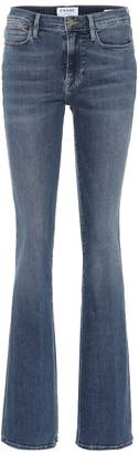 Frame Le High high-rise flared jeans