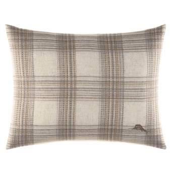 Raffia Palms Woven Pillow