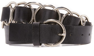 McQ - Alexander McQueen Multi Ring Belt $340 thestylecure.com
