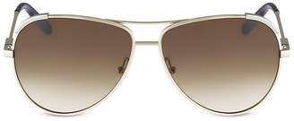 Chloé Nerine Aviator Sunglasses, 60mm