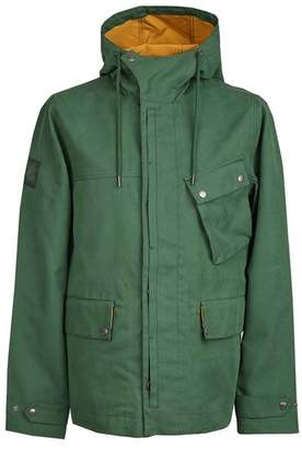 Pretty Green Contrast Colour Hooded Jacket