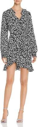 Vero Moda Fifi Printed Wrap Dress