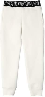 Emporio Armani Logo Band Cotton Sweatpants