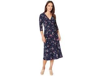 Lauren Ralph Lauren Petite Carlyn Mineola Floral Day Dress