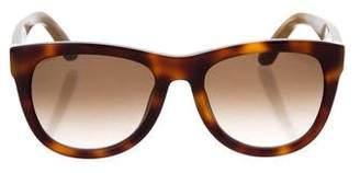 Salvatore Ferragamo Logo Tinted Sunglasses