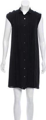 Adam Silk Sleeveless Dress