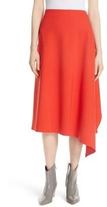 Tibi Bond Stretch Knit Origami Skirt