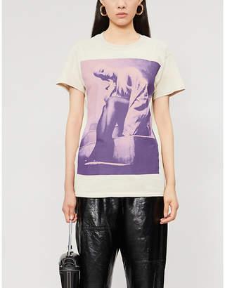 Bravado DESIGNS Ariana Grande Sweetener World Tour printed cotton-jersey T-shirt