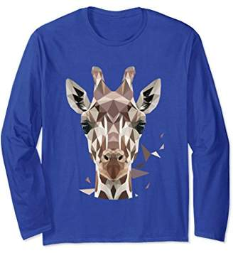 Unisex Kid & Adult Long Sleeve Giraffe T-shirts