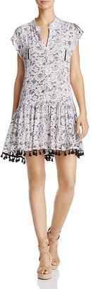 Poupette St. Barth Tassel-Trim Dress $300 thestylecure.com
