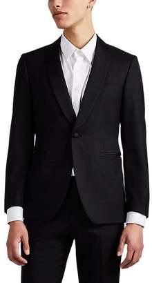 Brooklyn Tailors BROOKLYN TAILORS MEN'S BKT50 WOOL ONE-BUTTON SPORTCOAT - BLACK SIZE 3