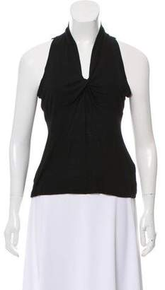 Agnona Sleeveless Knotted Top