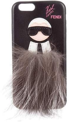 Fendi Karlito iPhone Case