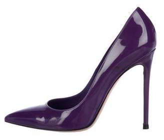 Gianvito Rossi Patent Leather High Heel Pumps