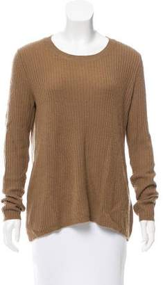 Enza Costa Cashmere Crew Neck Sweater