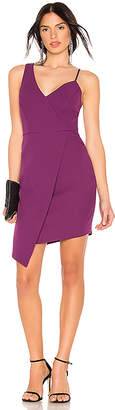 BCBGMAXAZRIA Micaila Asymmetrical Dress