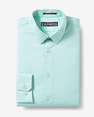 Express Fitted Diamond Textured 1Mx Shirt