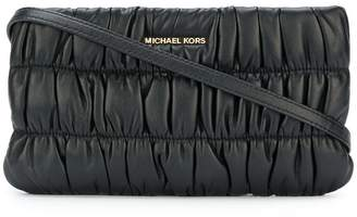 MICHAEL Michael Kors ruched clutch bag