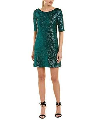 Betsey Johnson Women's Long Sleeve Sequin Dress