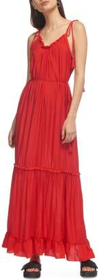 Whistles Tassel Tie Maxi Dress