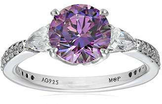 Swarovski Myia Passiello Essentials Zirconia Three Stone Fancy Ring