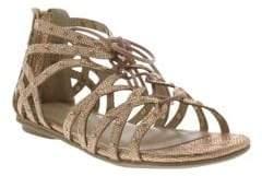 Kenneth Cole Girls Bright Ghillie Sandals