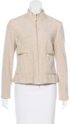 Brunello Cucinelli Cashmere Zip-Up Jacket