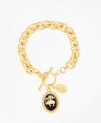Brooks Brothers Golden Fleece Charm Bracelet
