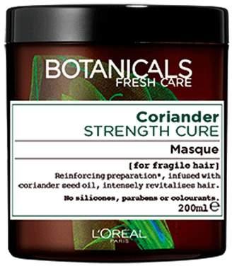 Botanicals L'Oreal Coriander Fragile Hair Strengthening Hair Mask 200ml